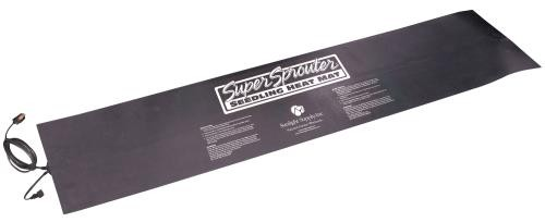 Super Sprouter 2 Tray Seedling Heat Mat Daisy-Chainable 12 in x 48 in