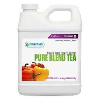Botanicare Pure Blend Tea Quart  0.5 - 0.5 - 1