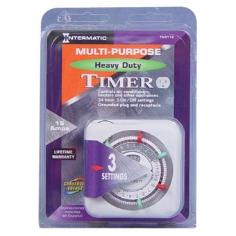 Intermatic TN311C Heavy Duty Timer 120 Volt