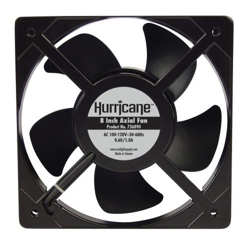 Hurricane Axial Fan 8 in 647 CFM