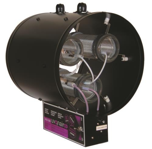 Uvonair CD Inline Duct Ozonator 12 in - 3 Cell