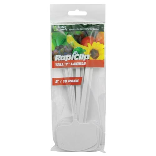 Luster Leaf T Label Plant Markers 8 in