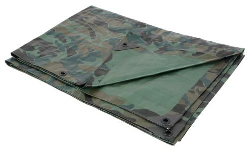Grower's Edge Heavy Duty Camo / Green Tarp 12 ft x 12 ft