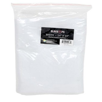 Black Ops Replacement Pre-Filter 14 in x 39 in White