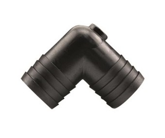 Hydro Flow Barbed Elbow 1 in (10/bag)
