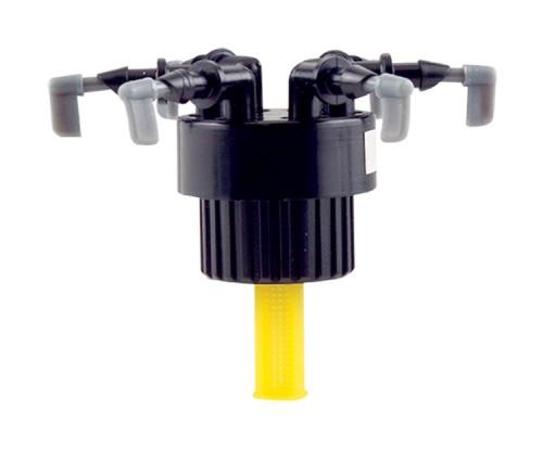 Hydro Flow Distributor Manifold 6 Outlet 1/2 in FPT (1/Bag)