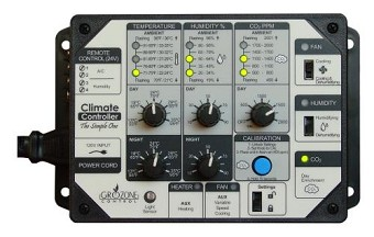 Grozone Control  Control SCC1 Temperature, Humidity, & CO2 Controller - Simple One Series