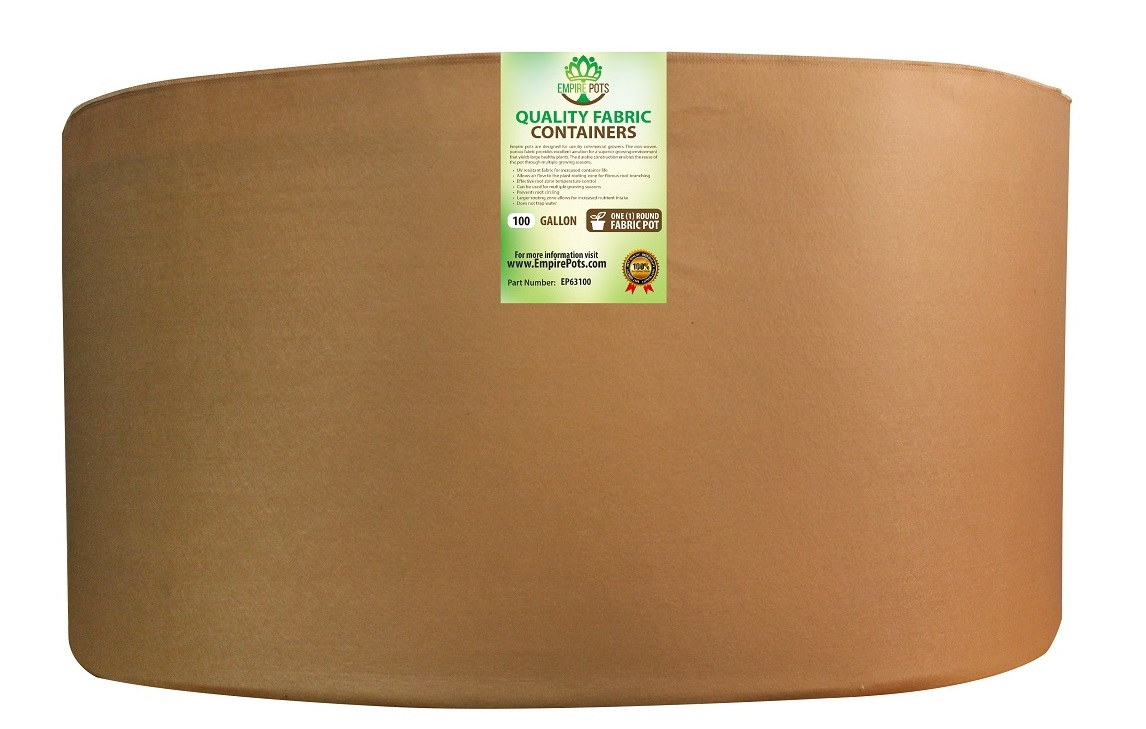 Empire Fabric Pots Premium 100 Gallon