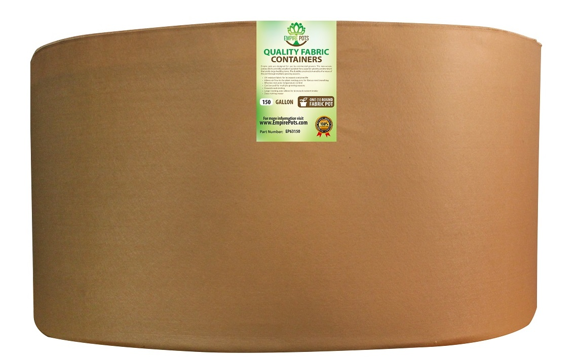 Empire Fabric Pots Premium 150 Gallon