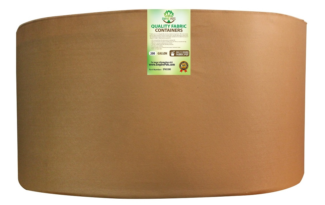 Empire Fabric Pots Premium 200 Gallon