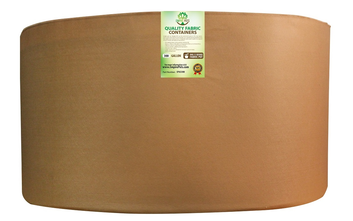 Empire Fabric Pots Premium 300 Gallon Pot
