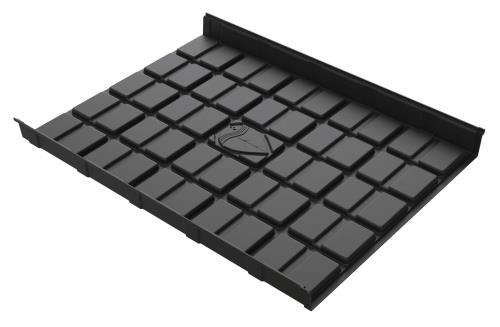Botanicare 4' Black ABS Mid Tray 10/Case