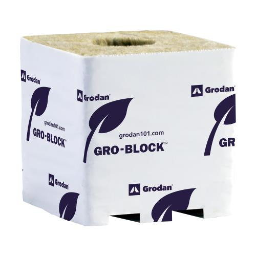 Grodan Gro-Block Improved GR10, large 4Inches loose on pallet (1,584)