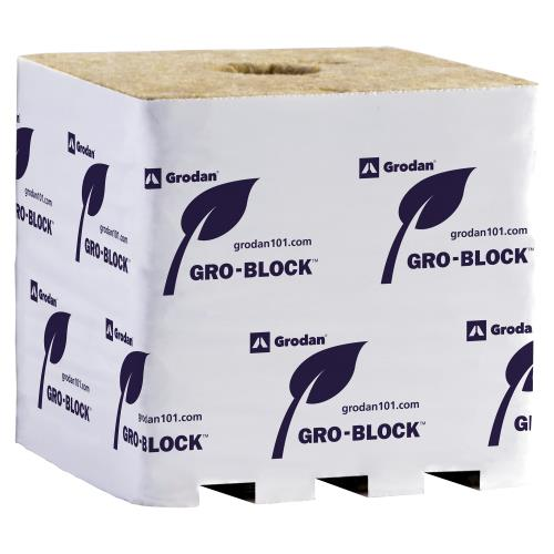 Grodan Gro-Block Improved GR32, 6x6x6, Hugo (box of 64)