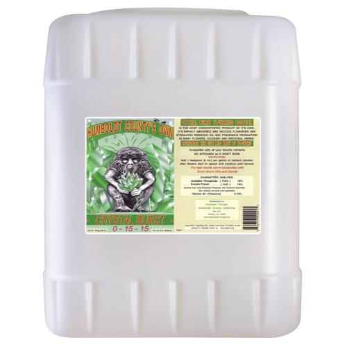 Emerald Triangle Crystal Burst 5 Gallon (5/Case)