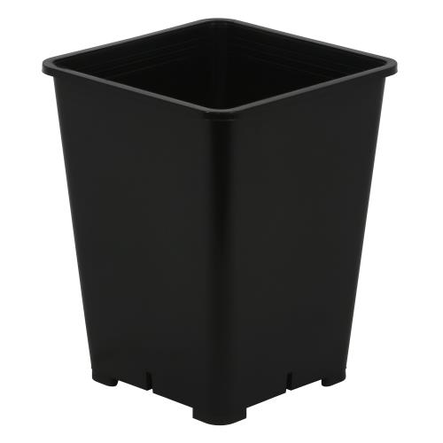 Gro Pro Premium Black Square Pot 6 in x 6 in x 8 in   300/Case