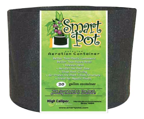 Smart Pot Black 20 Gallon   50/Case