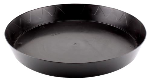 Gro Pro Heavy Duty Black Saucer - 14 in   300/Case