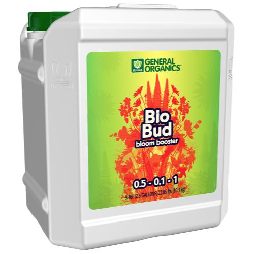 GH General Organics BioBud 2.5 Gallon   (2/Case)