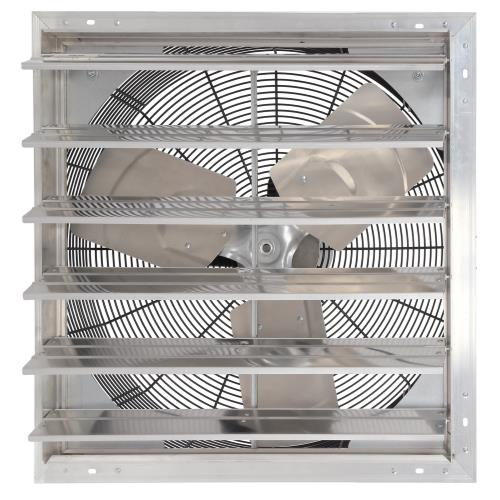Hurricane Pro Shutter Exhaust Fan 24 in (2/Case)