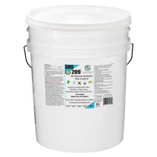 SNS 209 Systemic Pest Control Conc. 5 Gallon