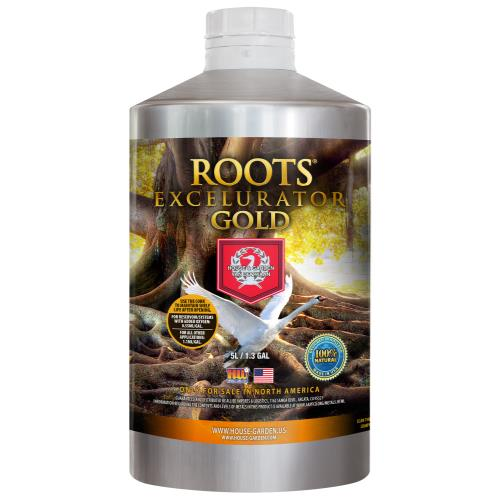 House and Garden Roots Excelurator Gold 5 Liter