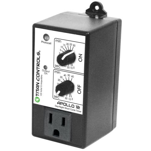 Titan Controls Apollo 12 - Short Cycle Timer w/ Photocell