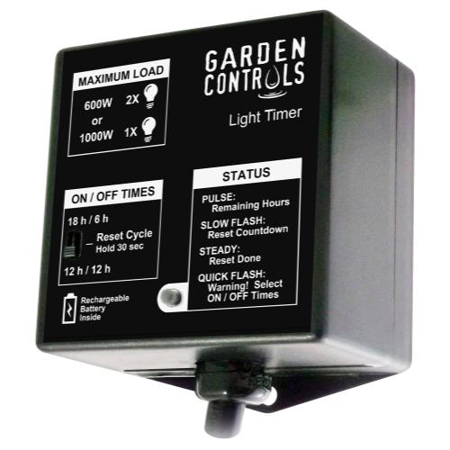 Grozone Garden Controls Light Timer