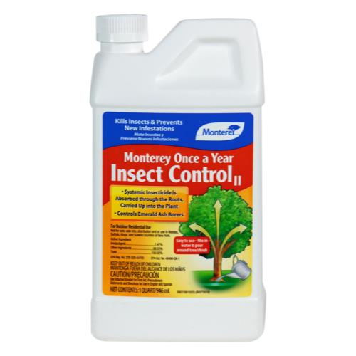 Monterey Once A Year Insect Control II Quart