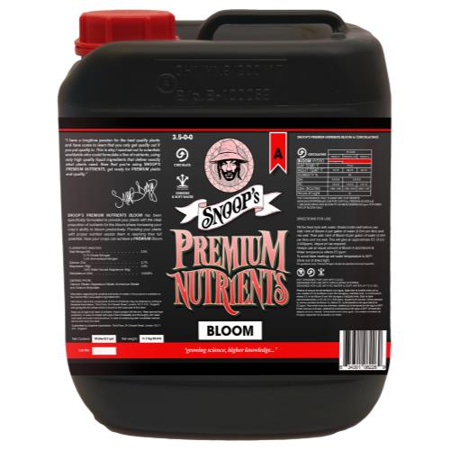 Snoop's Premium Nutrients Bloom A Circulating 10 Liter (Hydro Recirculating)