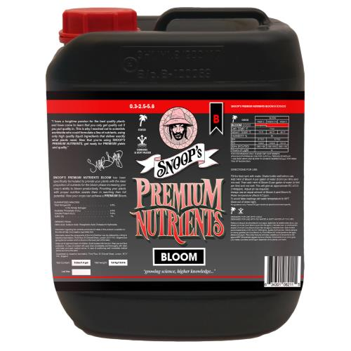 Snoop's Premium Nutrients Bloom B Coco 5 Liter