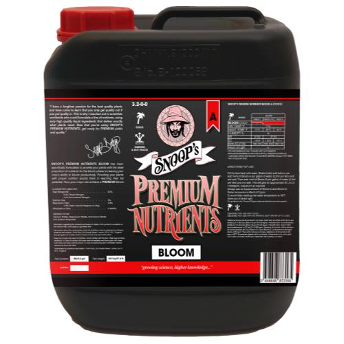 Snoop's Premium Nutrients Bloom A Coco 20 Liter