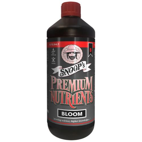 Snoop's Premium Nutrients Bloom B Non-Circulating 1 Liter (Soil and Hydro Run To Waste)