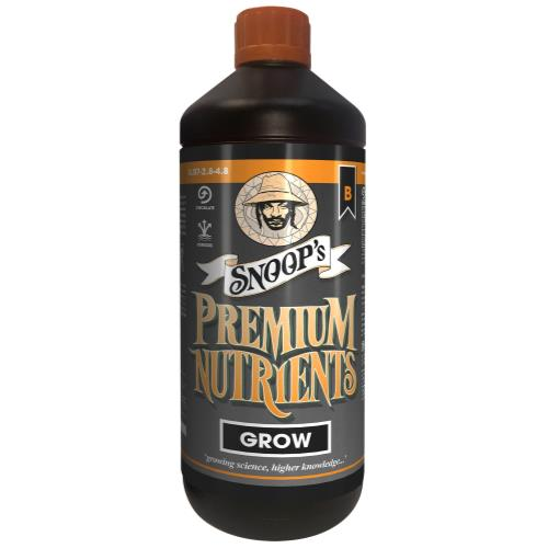 Snoop's Premium Nutrients Grow B Circulating 1 Liter (Hydro Recirculating)