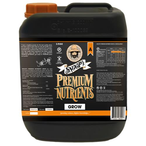 Snoop's Premium Nutrients Grow A Circulating 10 Liter (Hydro Recirculating)