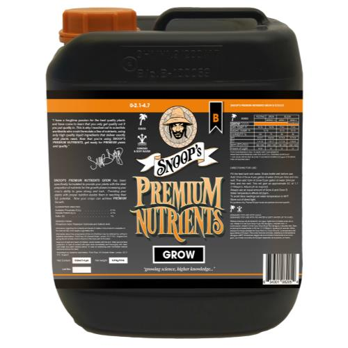 Snoop's Premium Nutrients Grow B Coco 5 Liter