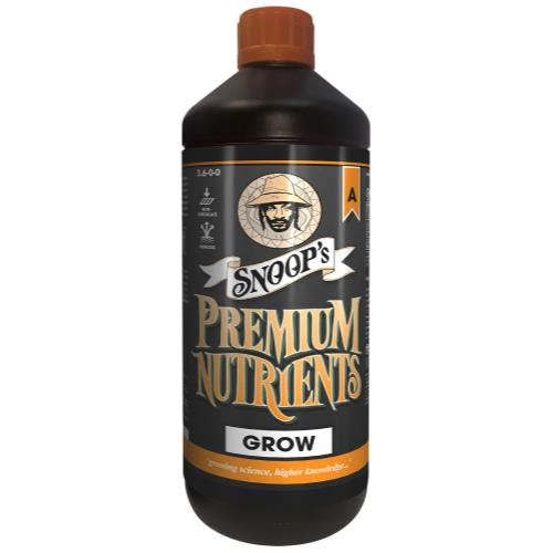 Snoop's Premium Nutrients Grow A Non-Circulating 1 Liter (Soil and Hydro Run To Waste)