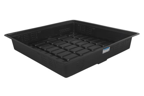 Duralastics 3 ft x 3 ft ID Black Tray