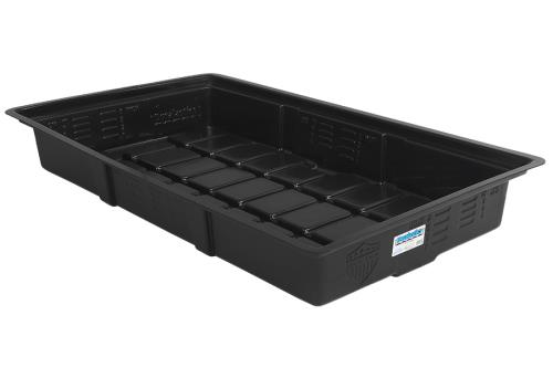 Duralastics 2 ft x 4 ft ID Black Tray