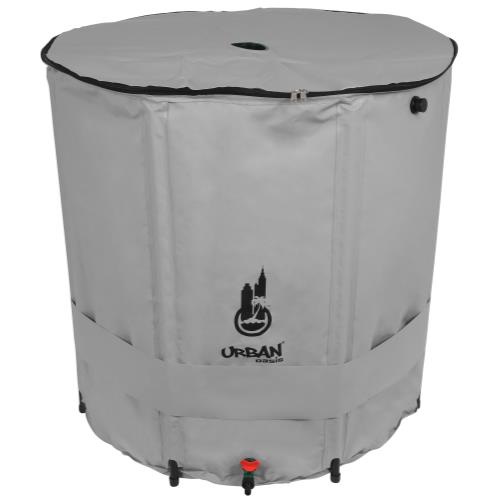 Urban Oasis Collapsible Water Storage Barrel 248 Gallon