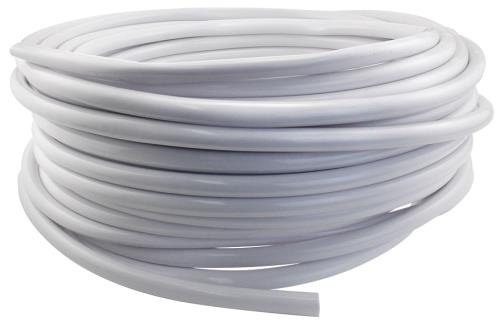 Hydro Flow Vinyl Tubing White 1/2 in ID  - 5/8 in OD 100 ft Roll