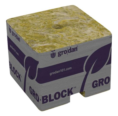 Grodan PRO Starter Mini-Blocks 1.5 in Unwrapped  (50/case)