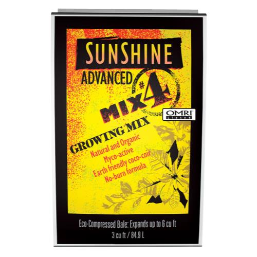 Sunshine Advanced Mix # 4 - 3 cu ft Compressed
