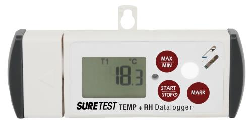 Sure Test Temperature and Relative Humidity Data-Logger
