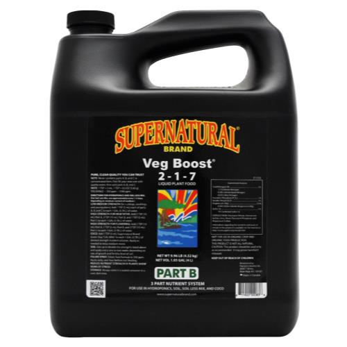 Supernatural Veg Boost 4 Liter