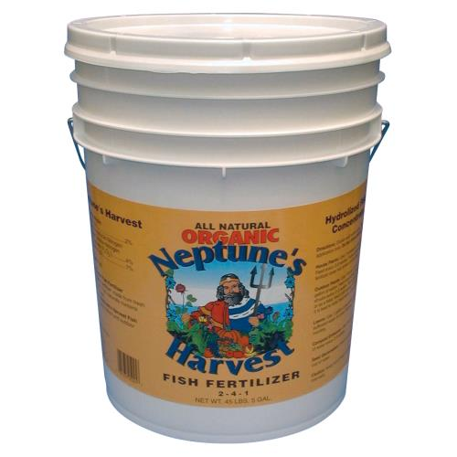 Neptune's Harvest Fish Fertilizer 5 Gallon