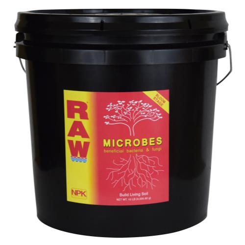 RAW Microbes Bloom Stage 10 lb