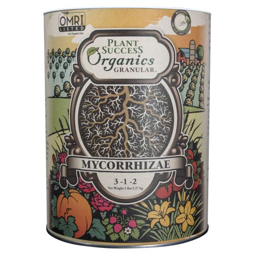 Plant Success Granular Mycorrhizae 5 lb 3 - 1 - 2