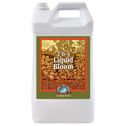 Down To Earth Liquid Bloom 2.5 Gallon