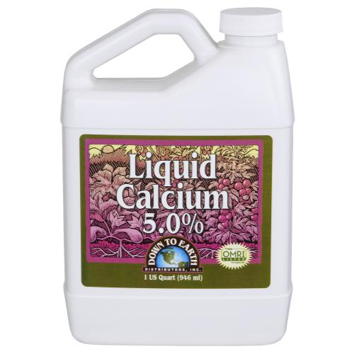 Down To Earth Liquid Calcium 5.0% Quart